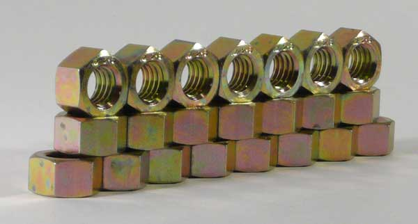 "ASTM A194 2H FINISHED HEX NUT, 1/2""-13"